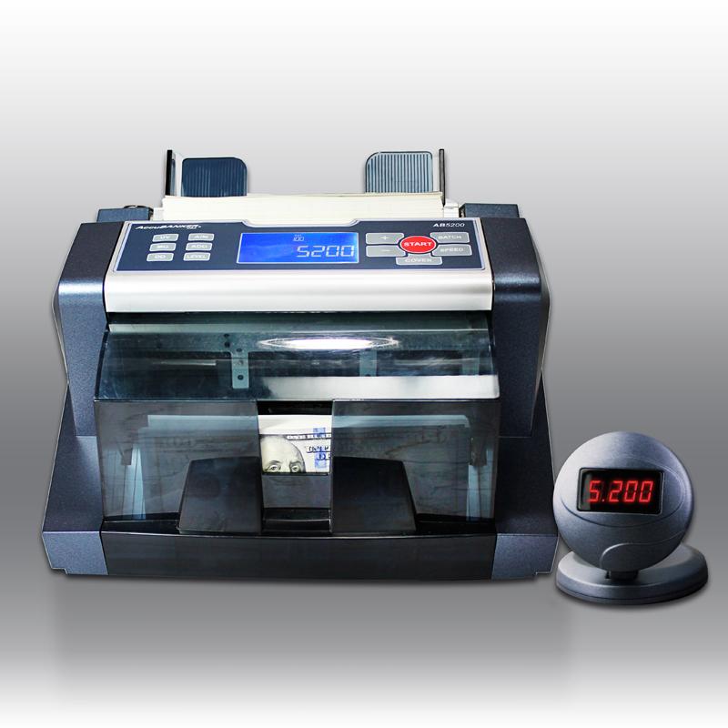 Contadora universal cajero bancario UV MG IR DD Modelo AB5200 Accubanker A.Melville